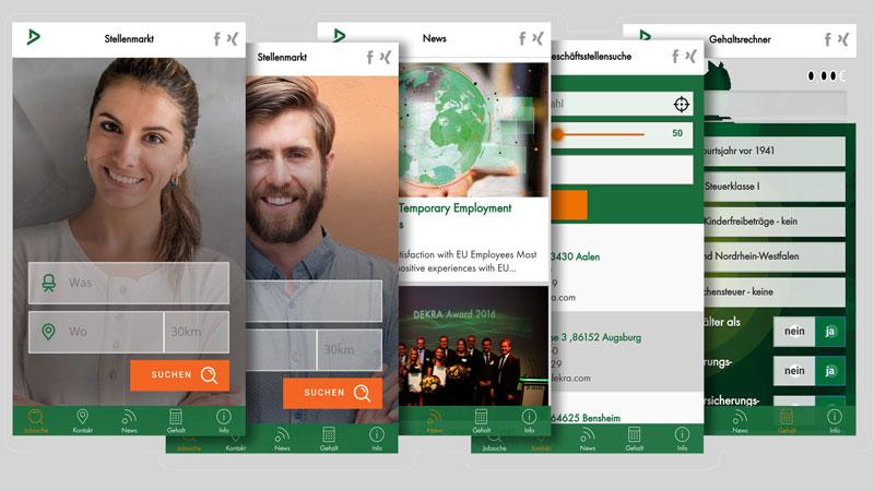 DEKRA-Arbeit-App